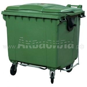 TARA Мусорный контейнер ASB 1100 л (с педалью) | Мусорные баки, контейнеры и тележки для дворников | Урны, пепельницы, корзины, тележки и баки для мусора