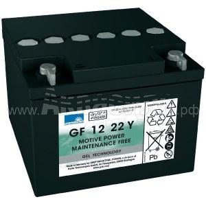 Sonnenschein GF 12 022 Y F Гелевый аккумулятор 12В 22Ач | Аккумуляторы для поломоечных и подметальных машин | Аксессуары и комплектующие