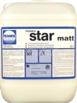 PRAMOL STAR MATT Средство для ухода за гладким полом   Полировка и натирка полов, твёрдых поверхностей   Клининг и профессиональная уборка   Химические и моющие средства