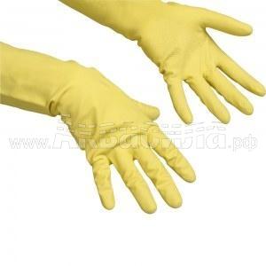 Vileda Professional Перчатки резиновые Contract 10 пар (размер XL)   Перчатки и защита рук   Одноразовая продукция и средства защиты