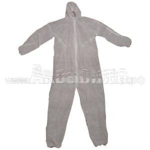 PRC Комбинезон с капюшоном XXL | Одноразовая одежда | Одноразовая продукция и средства защиты