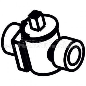 Columbus Кран подачи воды шаровой для ARA66, ARA80 | Запчасти для поломоечных машин | Аксессуары и комплектующие