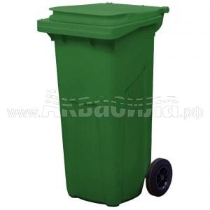 TARA Мусорный контейнер МКТ 120 л (зелёный)