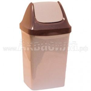 ACG Мусорный бак с плавающей крышкой 25 л   Вёдра, урны и корзины для мусора   Урны, пепельницы, корзины, тележки и баки для мусора