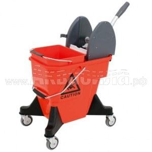 VDM ALEX 2 Ведро на колёсах без отжима 10+10 л | Уборочные вёдра и ведра с отжимом | Уборочные тележки и ведра на колёсах