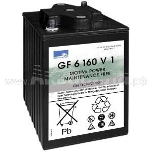 Sonnenschein GF 06 160 V1 Гелевый аккумулятор 6В 160Ач | Аккумуляторы для поломоечных и подметальных машин | Аксессуары и комплектующие