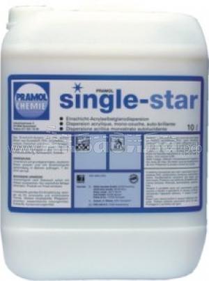 PRAMOL SINGLE-STAR Средство для ухода за гладким полом | Полировка и натирка полов, твёрдых поверхностей | Клининг и профессиональная уборка | Химические и моющие средства