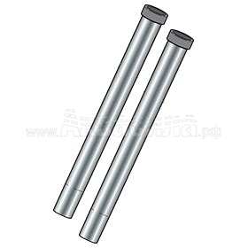 Cleanfix Удлинительные металлические трубки | Аксессуары для профессиональных пылесосов | Аксессуары и комплектующие