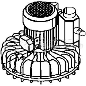 GHIBLI Турбина для пылесоса AZ35 | Двигатели для пылесосов | Аксессуары для профессиональных пылесосов | Аксессуары и комплектующие
