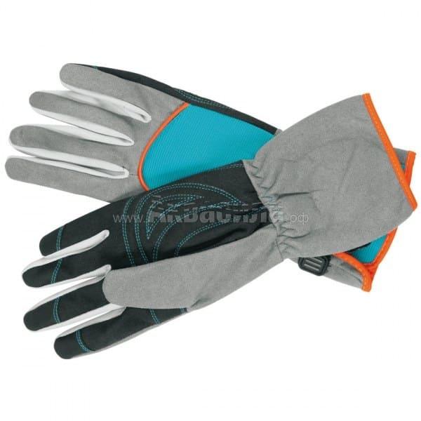 GARDENA Перчатки для ухода за кустарниками S (размер 7)  Перчатки и защита рук   Одноразовая продукция и средства защиты