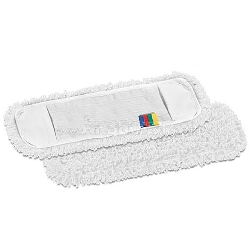 TTS Плоский МОП 40 с кармашками микрофибра | МОПы для влажной уборки | Инвентарь для уборки и мытья полов | Уборочный инвентарь