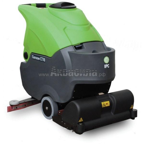 IPC Gansow CT 70 BT 55 R | Аккумуляторные поломоечные машины | Поломоечные машины