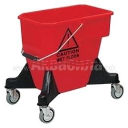 VDM ALEX 1 Ведро на колёсах без отжима 20 л | Многофункциональные уборочные тележки | Уборочные тележки и ведра на колёсах