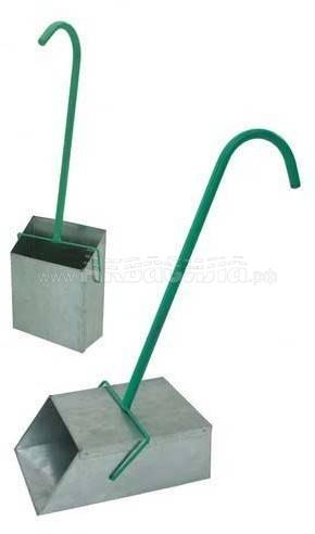 VDU Совок-контейнер без крышки | Совки уличные | Инвентарь для уборки улиц | Уборочный инвентарь