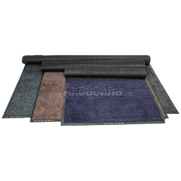 Грязезащитный ворсовый ковер на резиновой основе 115х600 см   Ворсовые грязезащитные коврики на резиновой основе   Грязезащитные покрытия