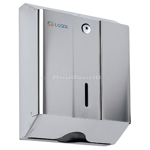 Algostar CO0104-F (сталь) | Диспенсеры бумажных полотенец в листах | Оборудование для туалетных и ванных комнат