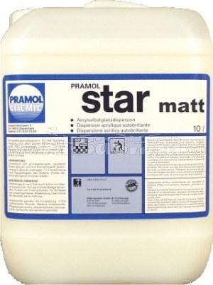 PRAMOL STAR MATT Средство для ухода за гладким полом | Полировка и натирка полов, твёрдых поверхностей | Клининг и профессиональная уборка | Химические и моющие средства