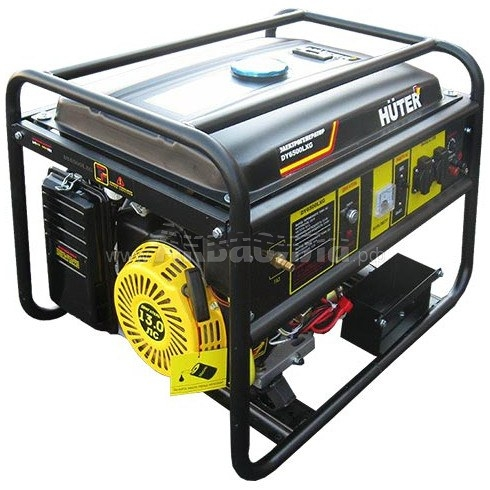 Huter DY6500LXG Портативный мультитопливный  генератор (бензин, газ) | Газовые генераторы | Генераторы