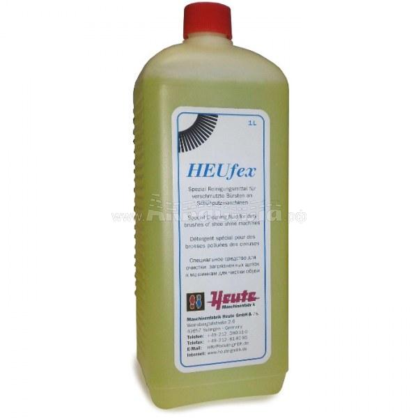 Heute Препарат для чистки щёток HEUFex 1 л | Аксессуары для аппаратов чистки обуви | Аксессуары и комплектующие