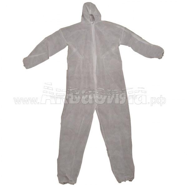 PRC Комбинезон с капюшоном XXL   Одноразовая одежда   Одноразовая продукция и средства защиты