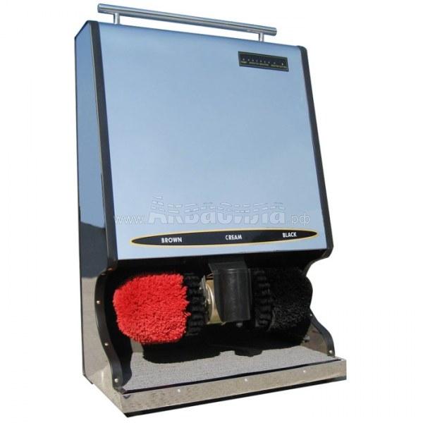 Машинка для чистки обуви (серебро)