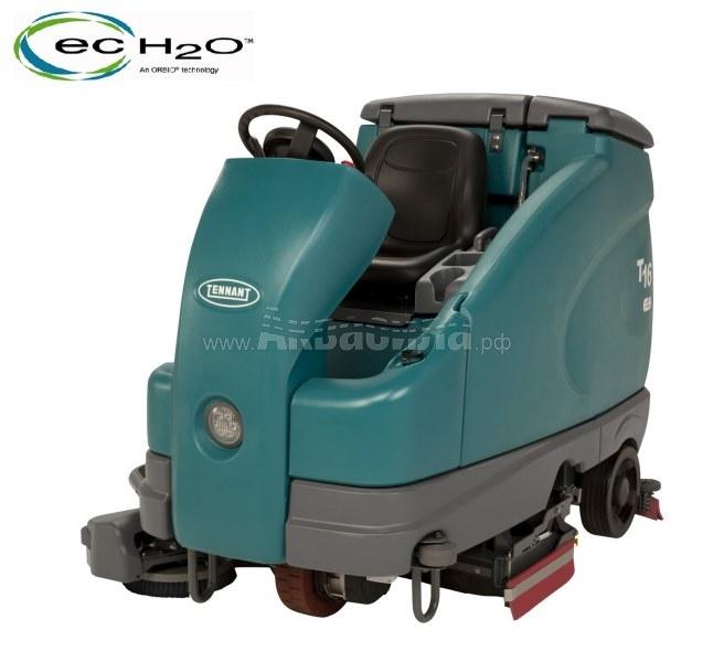 Tennant Т16D ECHO (90 см) | Поломоечные машины с сиденьем для оператора | Поломоечные машины