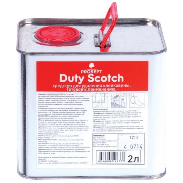 PROSEPT Duty Scotch Средство для удаления клейковины   Средства для пищевой промышленности   Производство и промышленность   Химические и моющие средства