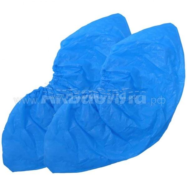 PRC Бахилы уплотнённые (коробка 4000 шт) | Одноразовая одежда | Одноразовая продукция и средства защиты