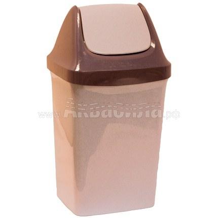 ACG Мусорный бак с плавающей крышкой 25 л | Вёдра, урны и корзины для мусора | Урны, пепельницы, корзины, тележки и баки для мусора