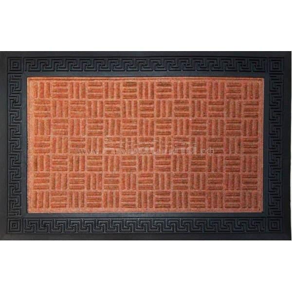Kanti Комбинированный влаговпитывающий коврик Athene 60х90 см | Входные коврики на виниловой основе | Грязезащитные покрытия