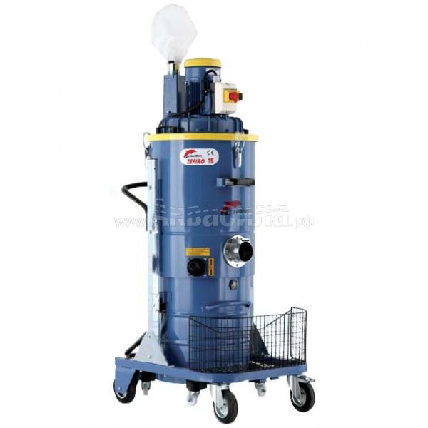 Delfin ZEFIRO 75   Трёхфазные промышленные и индустриальные пылесосы для сухой уборки   Промышленные и индустриальные пылесосы