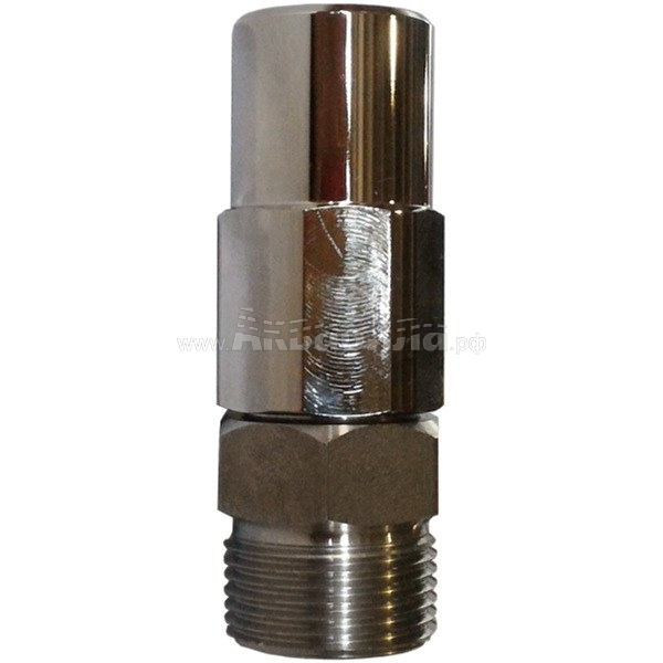 R+M Suttner ST-301 Поворотное соединение (никелированная сталь) | Муфты, переходники и шланговые соединители | Аксессуары для аппаратов высокого давления | Аксессуары и комплектующие