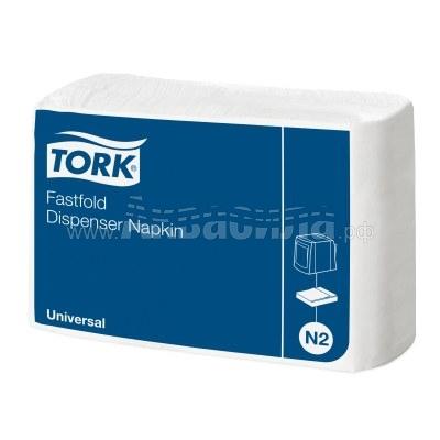 Tork Fastfold Universal N2 Диспенсерные салфетки 30х25   Расходные материалы   Оборудование для туалетных и ванных комнат
