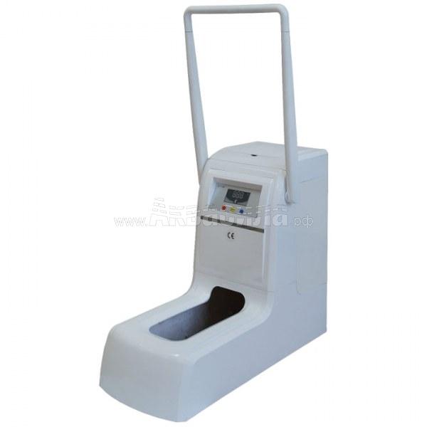Аппарат для надевания бахил QY-I100 (белый) с ручкой