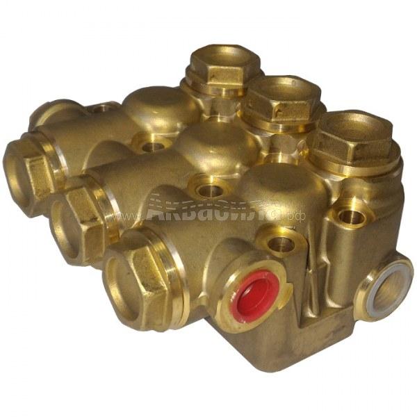 Hawk Комплект клапанного блока помпы (серия NMT) | Запчасти и ремкомплекты для аппаратов высокого давления | Аксессуары для аппаратов высокого давления