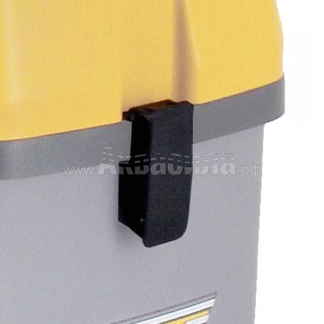 Ghibli Замок для бака пылесоса (черный пластик) для AS5, DOMOVAC   Запчасти для профессиональных пылесосов   Аксессуары и комплектующие