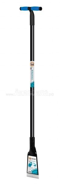 Centro Ледоруб-топор с металлической ручкой | Лопаты для снега, скреперы, движки, ледорубы | Инвентарь для уборки улиц | Уборочный инвентарь