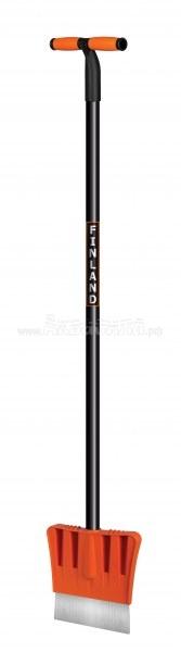 Centro Ледоруб-скребок с металлической ручкой | Лопаты для снега, скреперы, движки, ледорубы | Инвентарь для уборки улиц | Уборочный инвентарь
