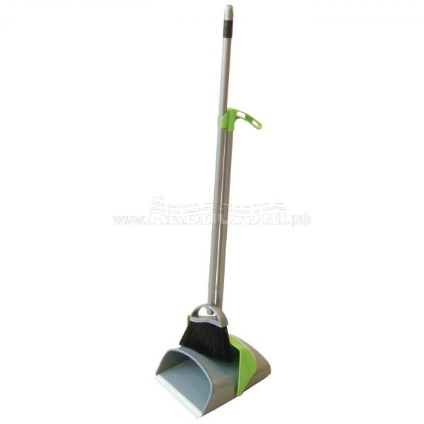 Euromop Комплектный совок | Щётки, совки и метёлки для уборки пыли | Инвентарь для уборки и мытья полов | Уборочный инвентарь