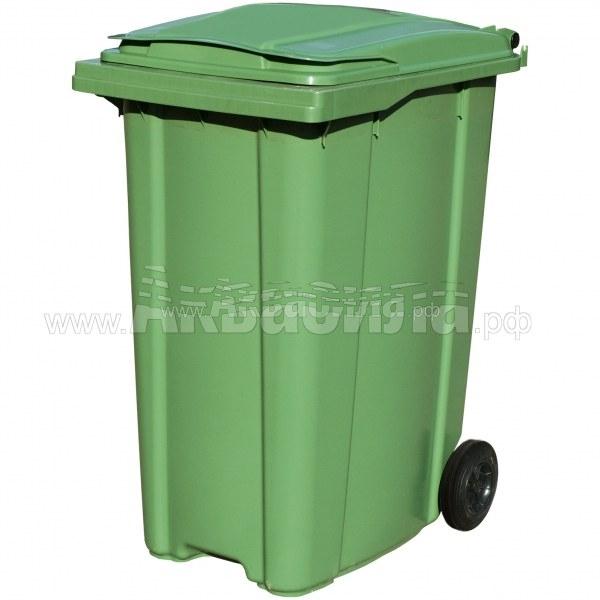 TARA Мусорный контейнер ASB 360 л | Мусорные баки и контейнеры | Урны, пепельницы, корзины, тележки и баки для мусора
