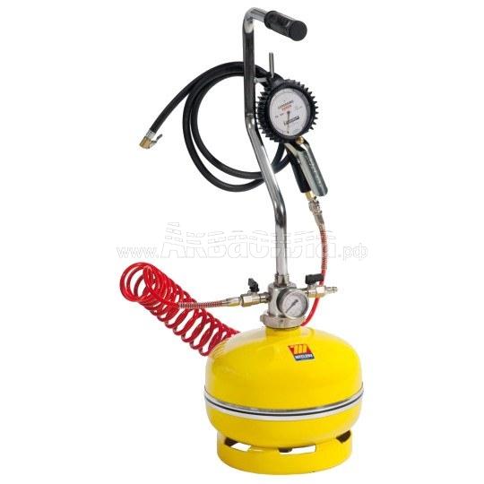 Meclube 1590 Устройство для подкачки шин с ручной регулировкой (12 л) | Посты и станции подкачки шин | Готовые решения для автомоек