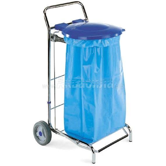 TTS Тележка для сбора мусора Dust (120 л) | Уборочные тележки для сбора мусора | Урны, пепельницы, корзины, тележки и баки для мусора
