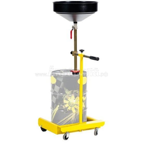 Meclube 1470 Тележка для бочек 50-60 л | Устройства для слива отработанного масла | Оборудование для автосервисов