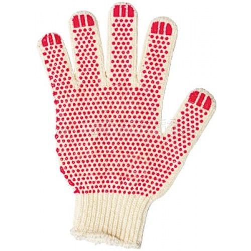 Перчатки трикотажные 3-х нитка (с рисунком ПВХ) | Перчатки и защита рук | Одноразовая продукция и средства защиты