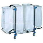 BOL Equipment Тележка для сбора мусора 95.128 (4х120 л)