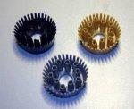 Velcoc Круглая вставка-щётка для ячеистых покрытий 1 шт