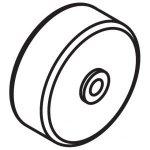 Columbus Опорное колесо для всасывающей балки для RA43, RA55