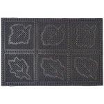 Sindbad 2040-04 Грязезащитный резиновый коврик 45х75 см ЛИСТЬЯ