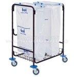 BOL Equipment Тележка для сбора мусора 95.129 (2х120 л)