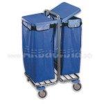 BOL Equipment Тележка для сбора мусора 10.106 (2х120 л)